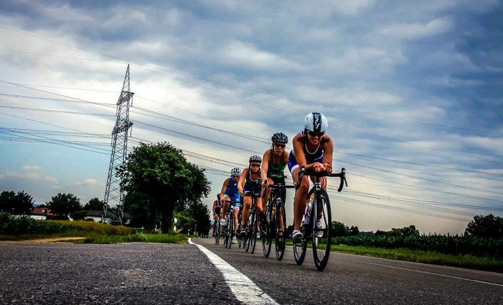 Triathlon contre le stress