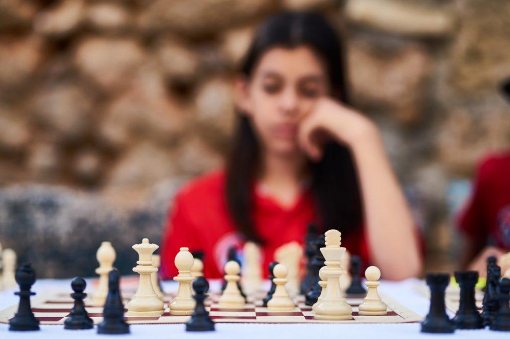 Joueuses d'échecs