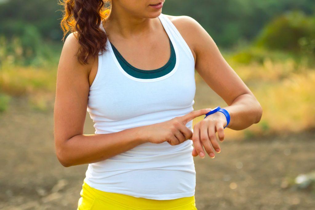 bracelet connecté pour le sport